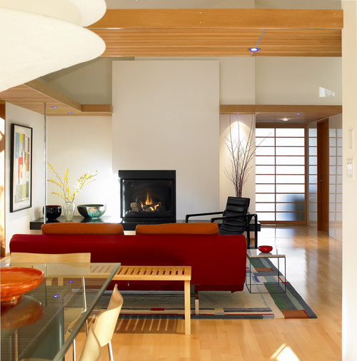 Japanese Contemporary Living Room