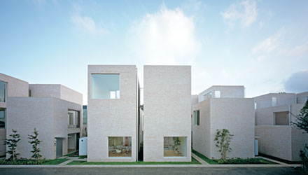 Concrete Townhouse Facades