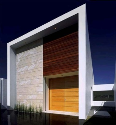 Contemporary Timber Feature Facade