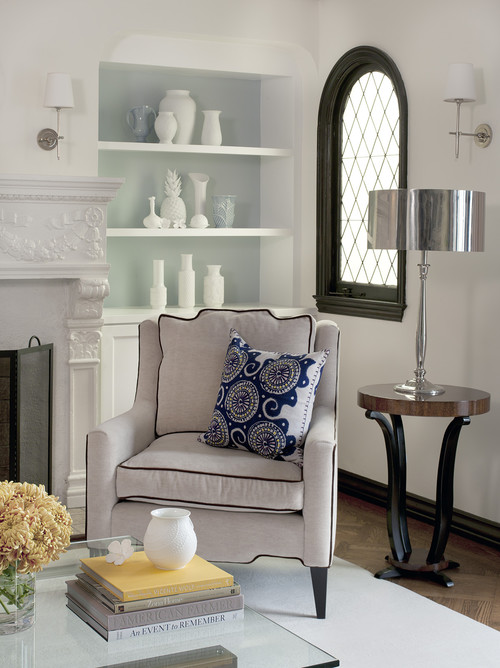Traditional Living Room French Provincial