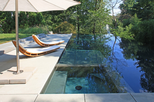 Concrete fibreglass pools destination living - Modern swimming pool designs ...