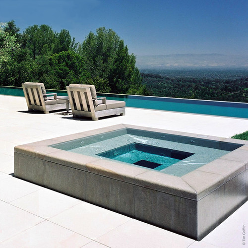 Modern Swimming Pool Exterior Indulge Yourself With A Spa Destination Living