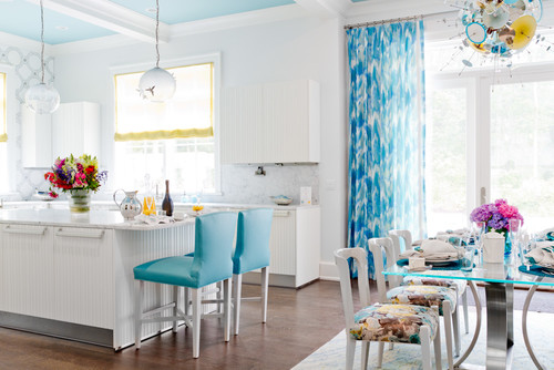 blue-contemporary-dining-room