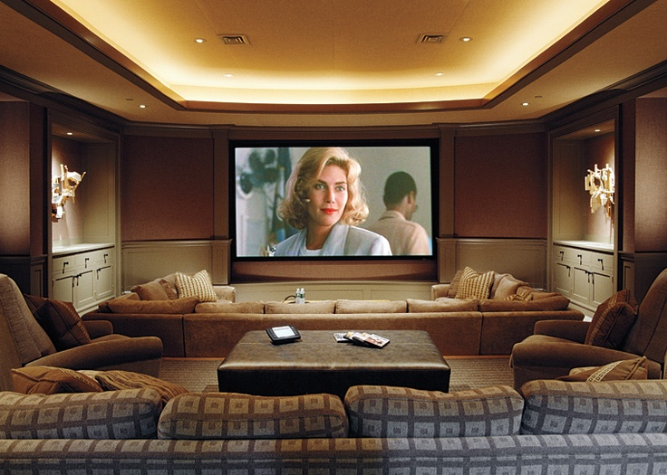 Home theatre destination living - Exquisite pictures of home theater ideas design and decoration ...