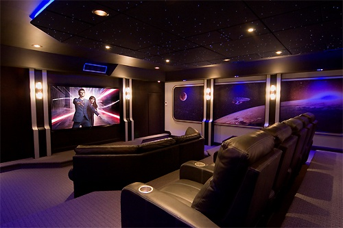 home theatre destination living. Black Bedroom Furniture Sets. Home Design Ideas