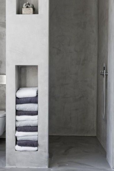 Bathroom Towel Storage Idea