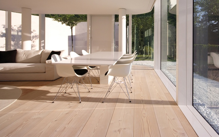wood flooring (floating floor)