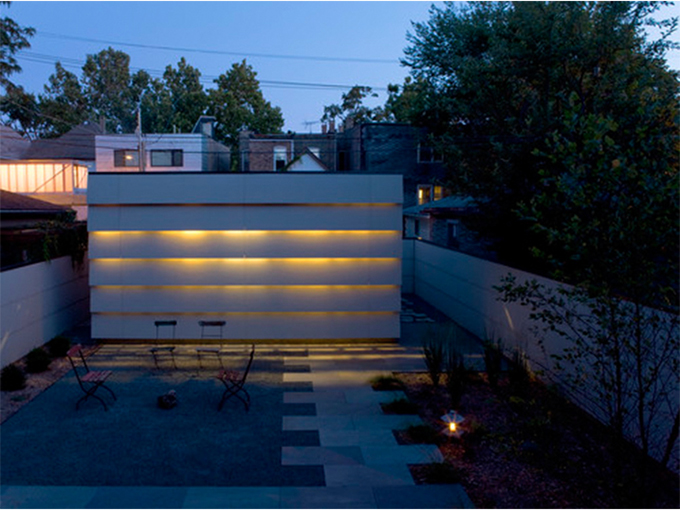 Modern Architectural Garage Lighting