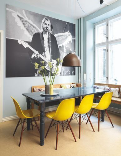 Rock N' Roll Dinning Room