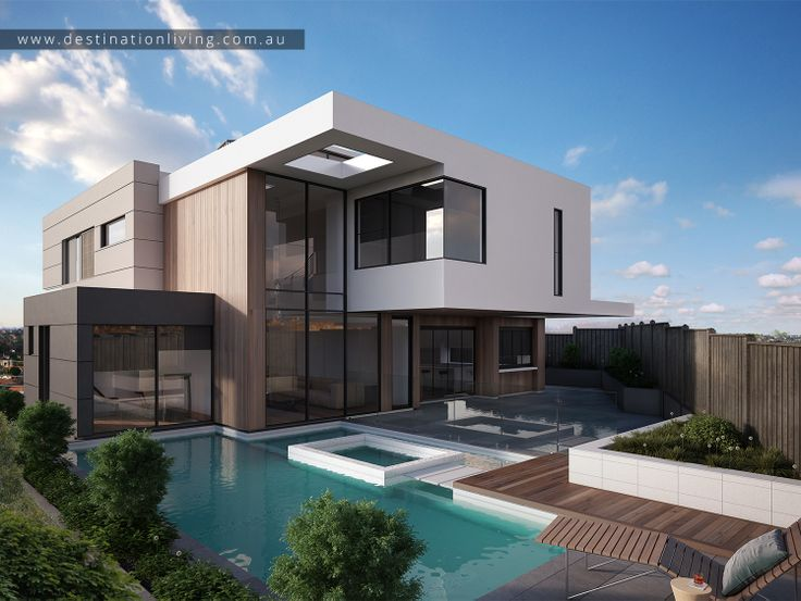 Modern Luxury Swimming Pool Design From Out Eaglemont Project