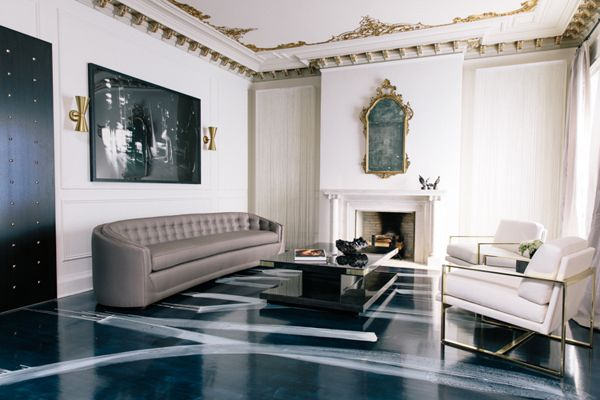 Classical Period Home Living Room Design