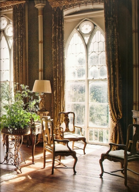 Period Home Windows and Drapes