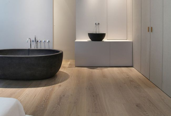 Beautiful Timber Flooring in Bathroom