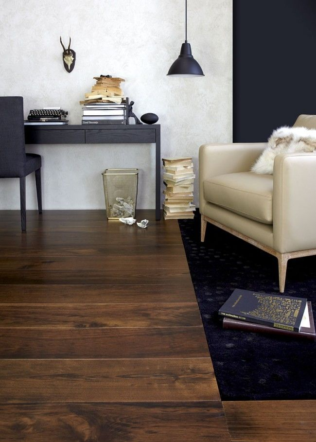 Dark Hardwood Solid Timber Flooring