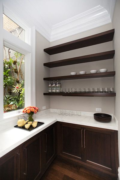 Butler's Pantry With Caesarstone Benchtop