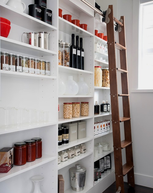Narrow And Compact Butlers Pantry
