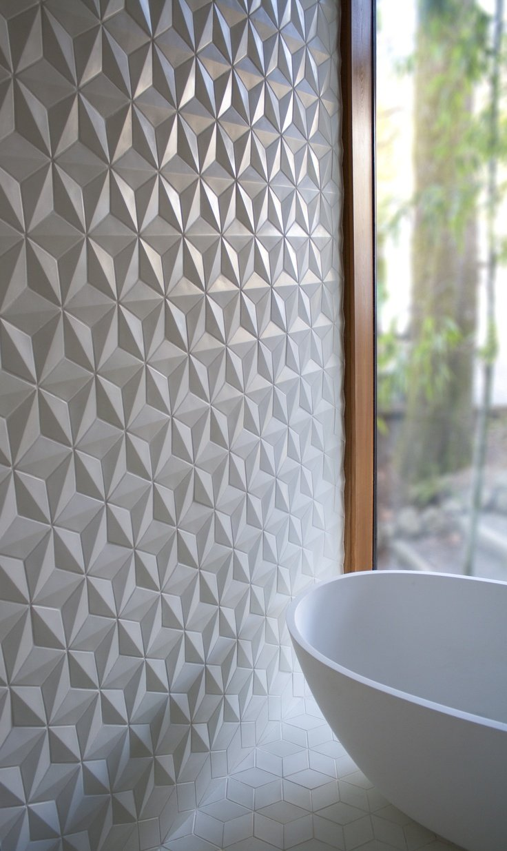 Bathroom tiling 8 great tips for choosing the right tile destination living for Carrelage avec strass