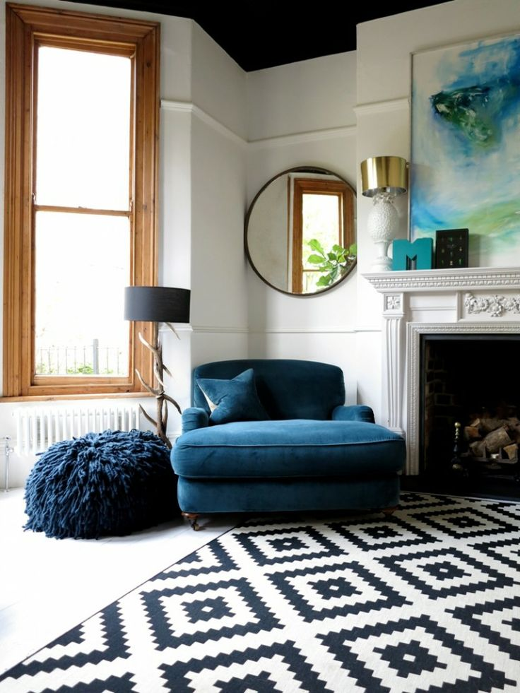 Patterned  Living Room Rug
