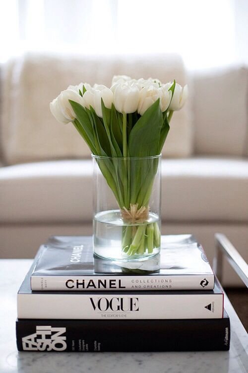 Simple Vase On Books