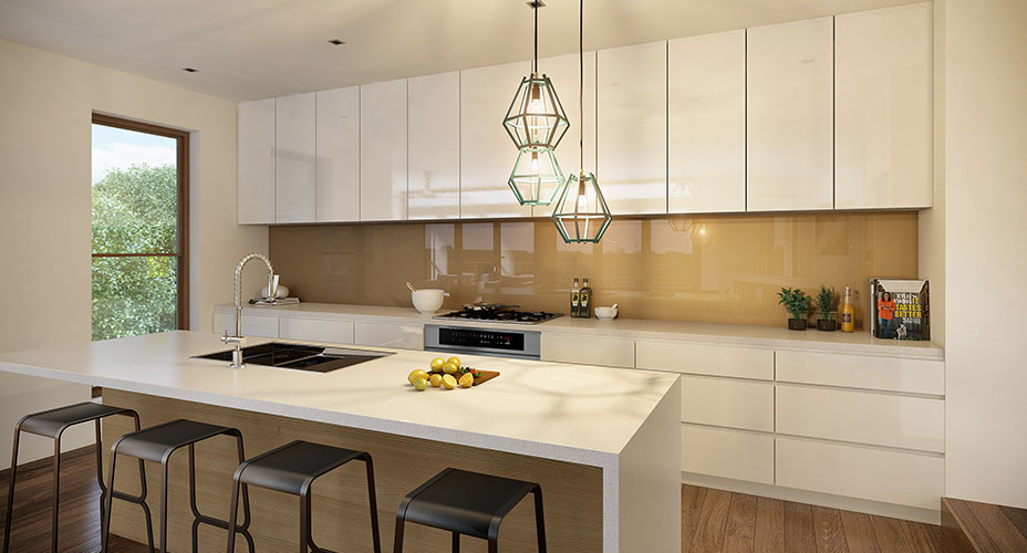 Kitchen from our Wheelers Hill project - Click to see more