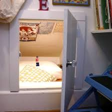 cubby hole with door