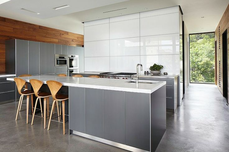 Open Modern Kitchen by Cornerstone Architects