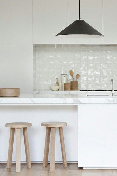 The basics of good kitchen design destination living for Scandinavian kitchen backsplash