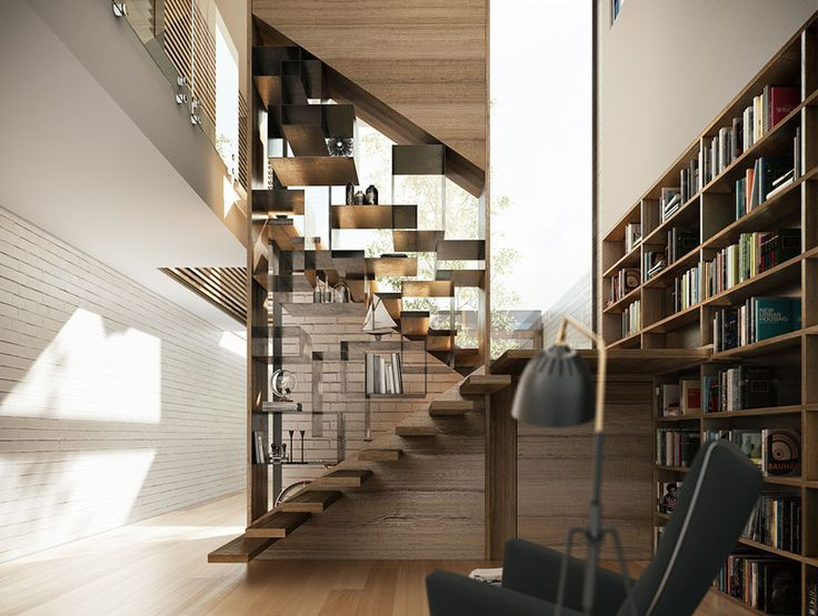 Staircase from Prahran Project