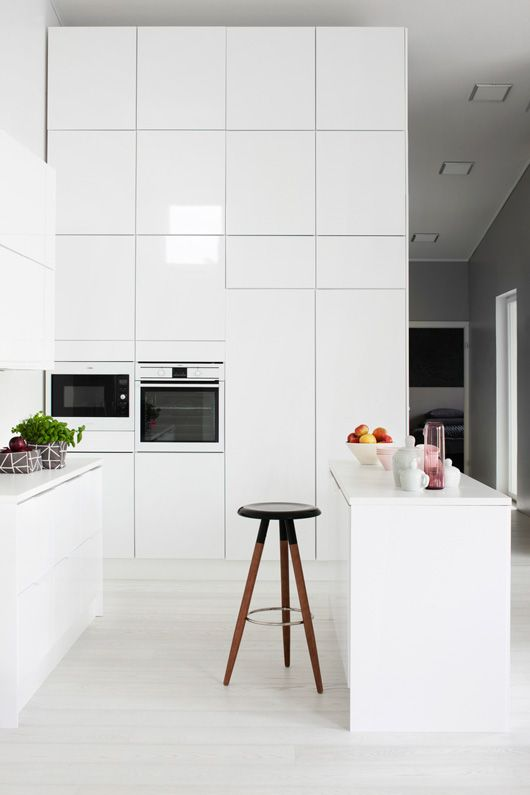 White Kitchen by Laura Seppanen
