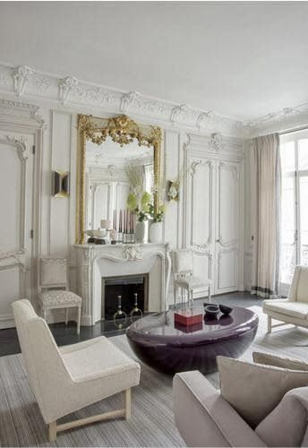 Interior design styles parisian chic destination living - Parisian interior design style ...