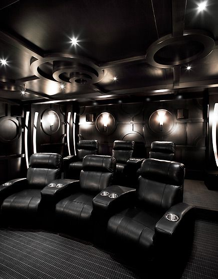 Great ideas for furnishing your home theatre destination for Homes for sale with theater room