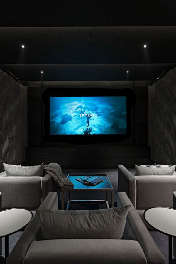 Great Ideas For Furnishing Your Home Theatre