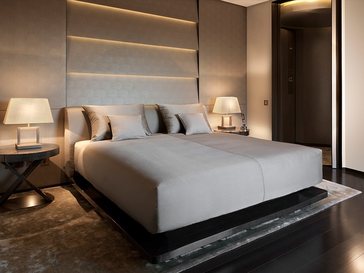 How to create a luxurious hotel feel in your home destination living - Camera da letto hotel ...