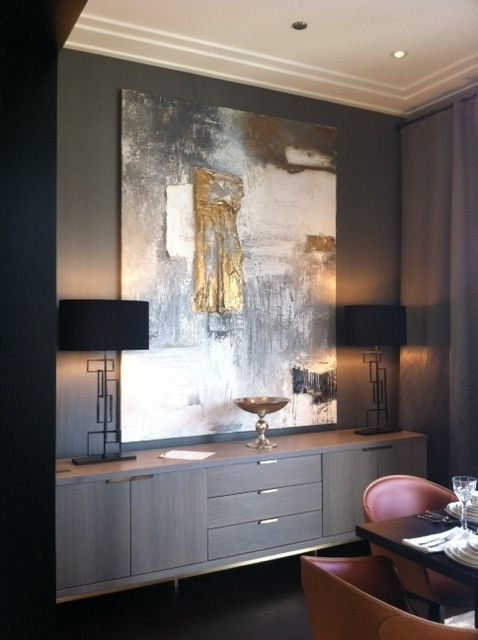 feature artwork and furnishings