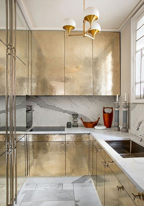 13a gold and stone kitchen