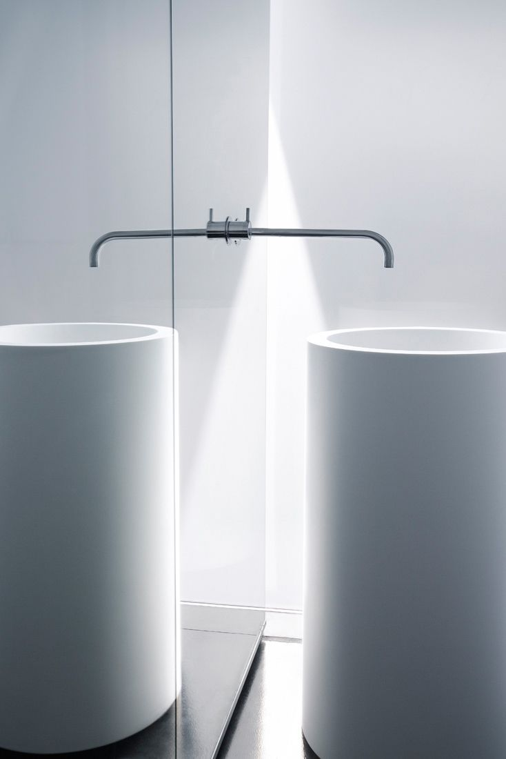 19a cylindrical vanity