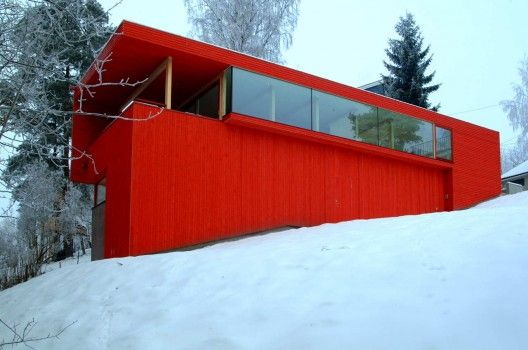 5a sloping red block