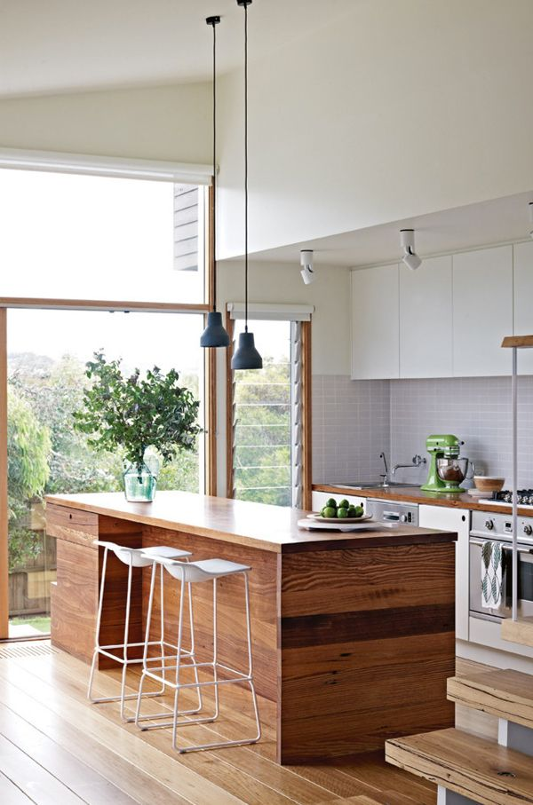 21 Light kitchen with louvres