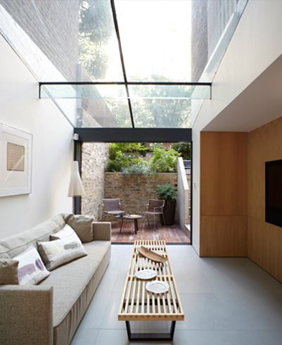 How to maximise light in narrow block homes destination living - Skylight house plans natural light ...