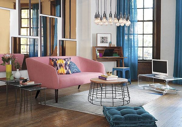 Image gallery living trends 2015 for Modern living room colours 2015