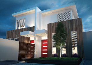 Dual occupancy home designs duplex builders dual for Corner block duplex designs