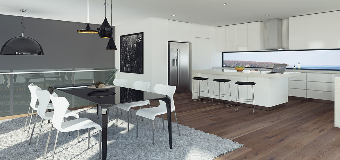 The Bay Views From The Sandringham Project's Kitchen