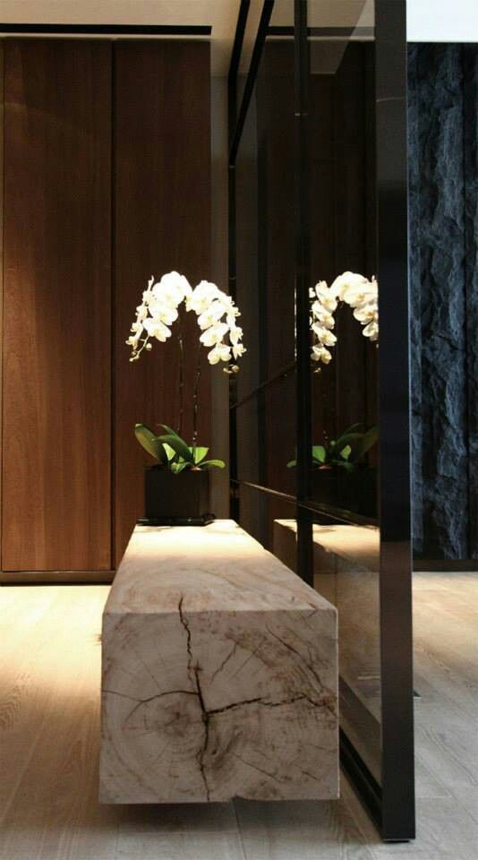 Japanese rustic and simply elegant interior design