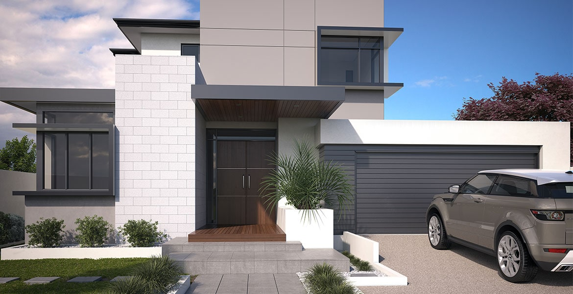 Modern home designs are becoming popular in melbourne for Project home designs